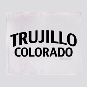 Trujillo Colorado Throw Blanket
