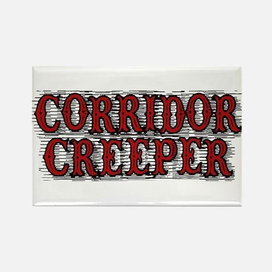 Corridor Creeper Rectangle Magnet