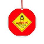 Tantrum Zone Ornament (Round)