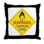 Tantrum Zone Throw Pillow