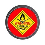 Tantrum Zone Wall Clock