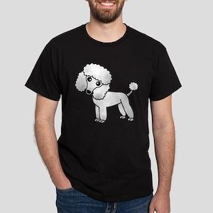 Cute White Poodle T-Shirt