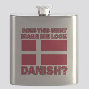 Danish flag designs Flask