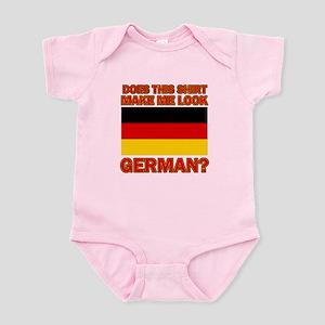 German flag designs Infant Bodysuit