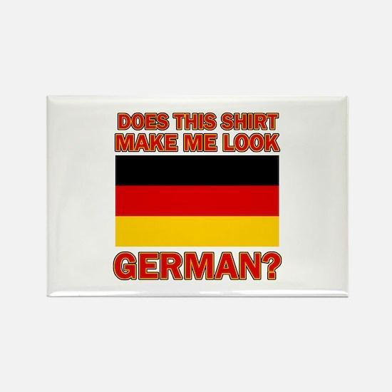 German flag designs Rectangle Magnet