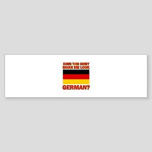 German flag designs Sticker (Bumper)