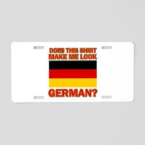German flag designs Aluminum License Plate