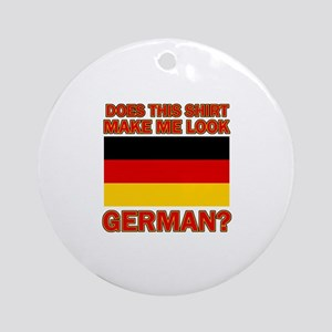 German flag designs Ornament (Round)