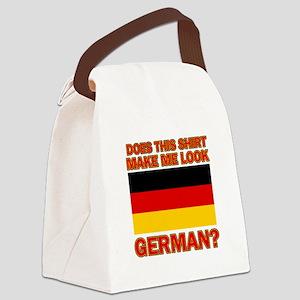 German flag designs Canvas Lunch Bag