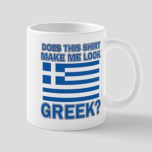 Greek flag designs Mug