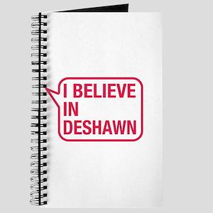 I Believe In Deshawn Journal