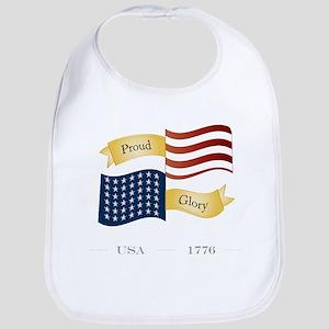 Patriot Pride and Glory Bib