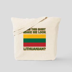 Lithuanian flag designs Tote Bag