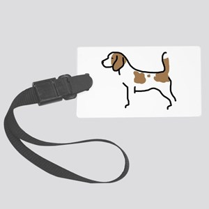 Beagle II Large Luggage Tag