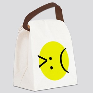 angry emotion Canvas Lunch Bag