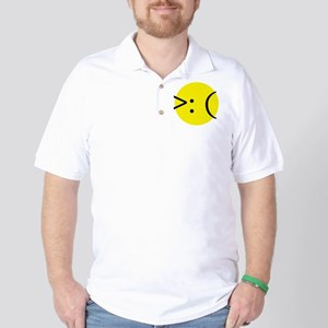 Angry Emotion Golf Shirt