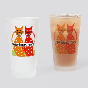 vet tech 3 Drinking Glass