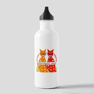 vet tech 3 Water Bottle