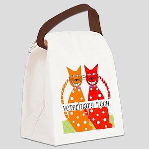 vet tech 3 Canvas Lunch Bag