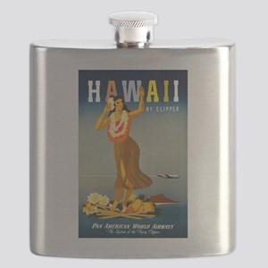 Vintage Hawaiian Travel Flask