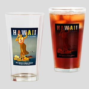 Vintage Hawaiian Travel Drinking Glass