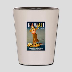 Vintage Hawaiian Travel Shot Glass