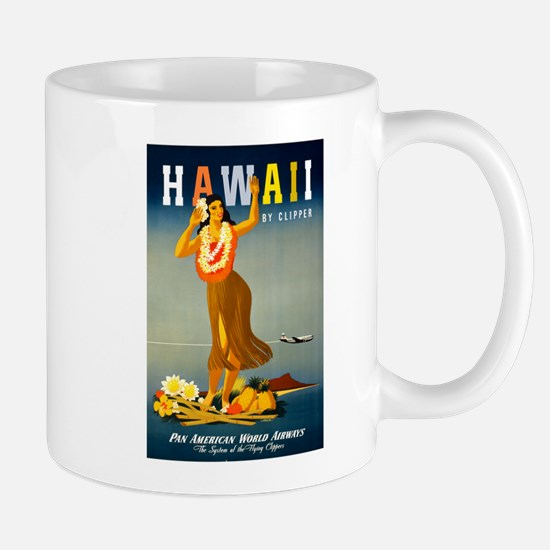 Vintage Hawaiian Travel Mug