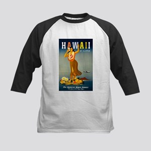 Vintage Hawaiian Travel Baseball Jersey