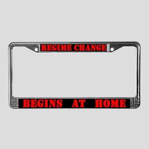 Regime '04: License Plate Frame