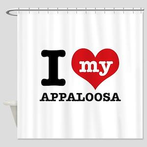 I love my Appaloosa Shower Curtain
