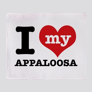 I love my Appaloosa Throw Blanket