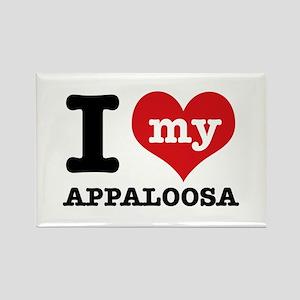 I love my Appaloosa Rectangle Magnet