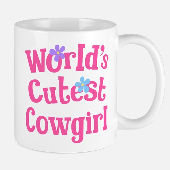 Worlds Cutest Cowgirl Mug