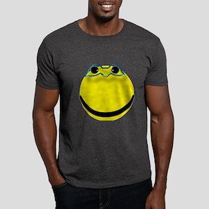 Super hero smiley face Dark T-Shirt
