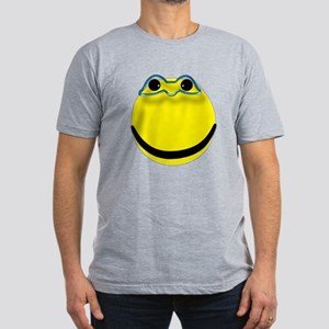Super hero smiley face Men's Fitted T-Shirt (dark)