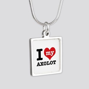 I love my Axolot Silver Square Necklace