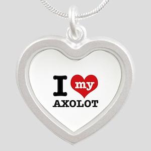 I love my Axolot Silver Heart Necklace
