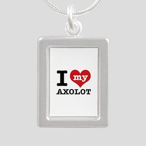 I love my Axolot Silver Portrait Necklace