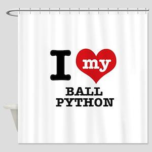 I love my Ball Python Shower Curtain