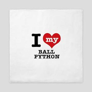 I love my Ball Python Queen Duvet