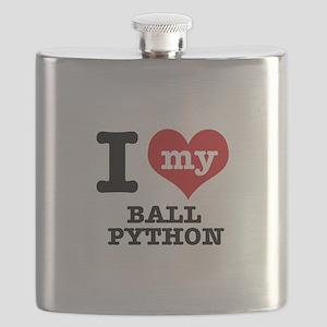 I love my Ball Python Flask