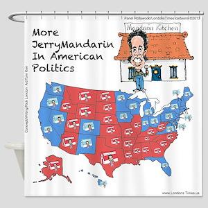 More GOP Gerrymandering Shower Curtain