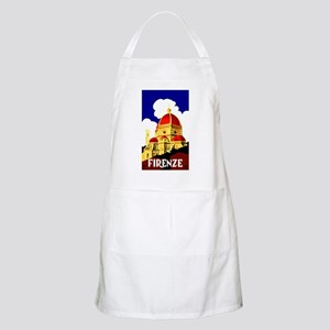 Vintage Florence Italy Travel Apron