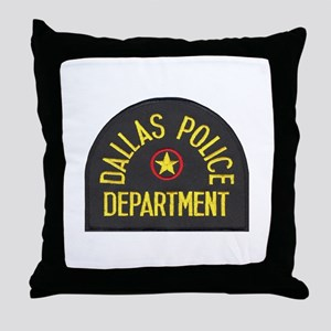 Dallas Police Throw Pillow