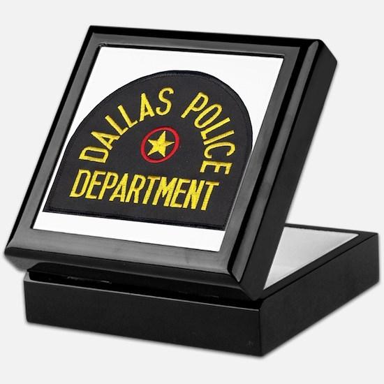 Dallas Police Keepsake Box