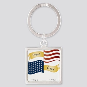 Patriot Pride and Glory Keychains
