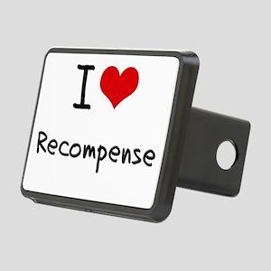 I Love Recompense Hitch Cover