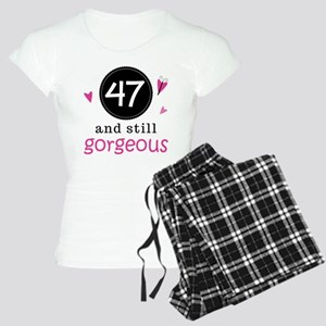 47th Birthday Gorgeous Women's Light Pajamas