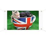 Tea Cup Piggies Banner