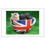 Tea Cup Piggies Poster Art